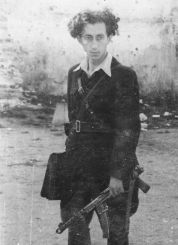 A picture of Abba Kovner, resistance leader of Vilna.