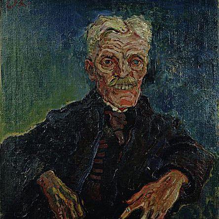 Oskar Kokoschka, Hirsch as an old man, 1907.