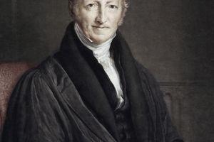 Thomas Malthus Colour Portrait Population