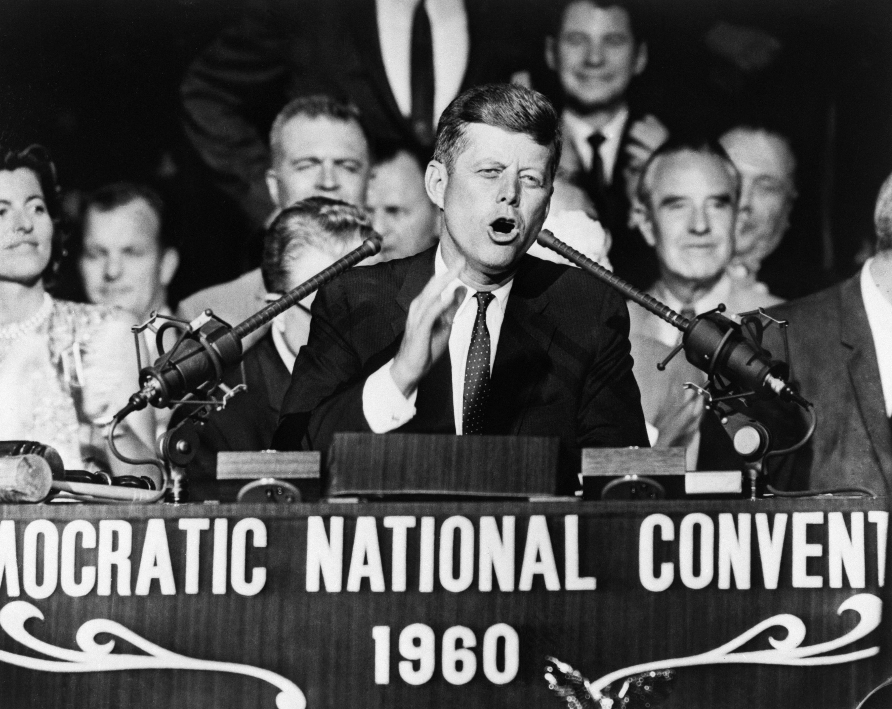 Kennedy Addressing Democrat Natl Conv