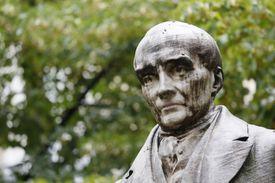 Statue of Auguste Comte