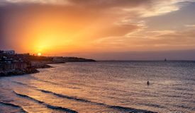 Sunset in Tunisia
