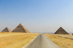 The Pyramids Of Giza, Egypt
