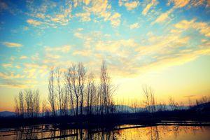 evening view of Kashmir