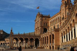 Seville, Spain on a sunny day.