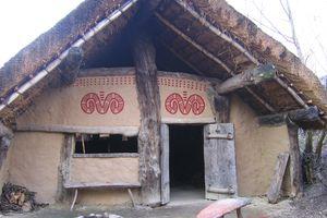 Reconstructed Linearbandkeramik Farmhouse, Archeon