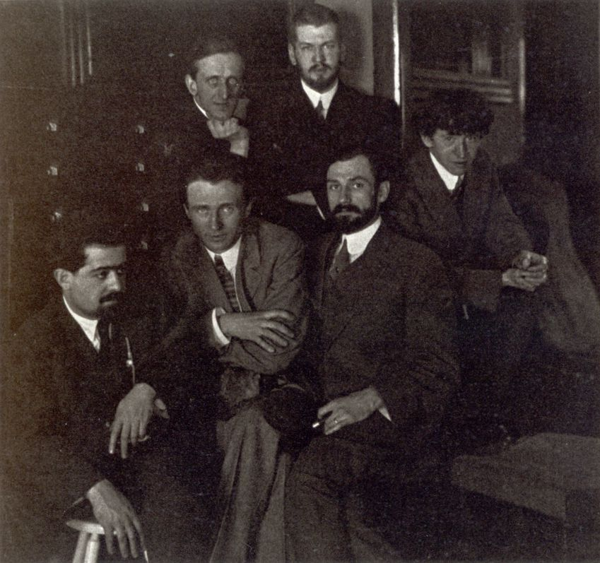 young American artists 1911