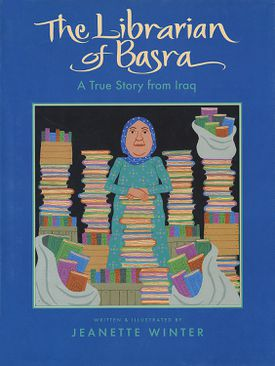 The Librarian of Basra - children's picture book cover