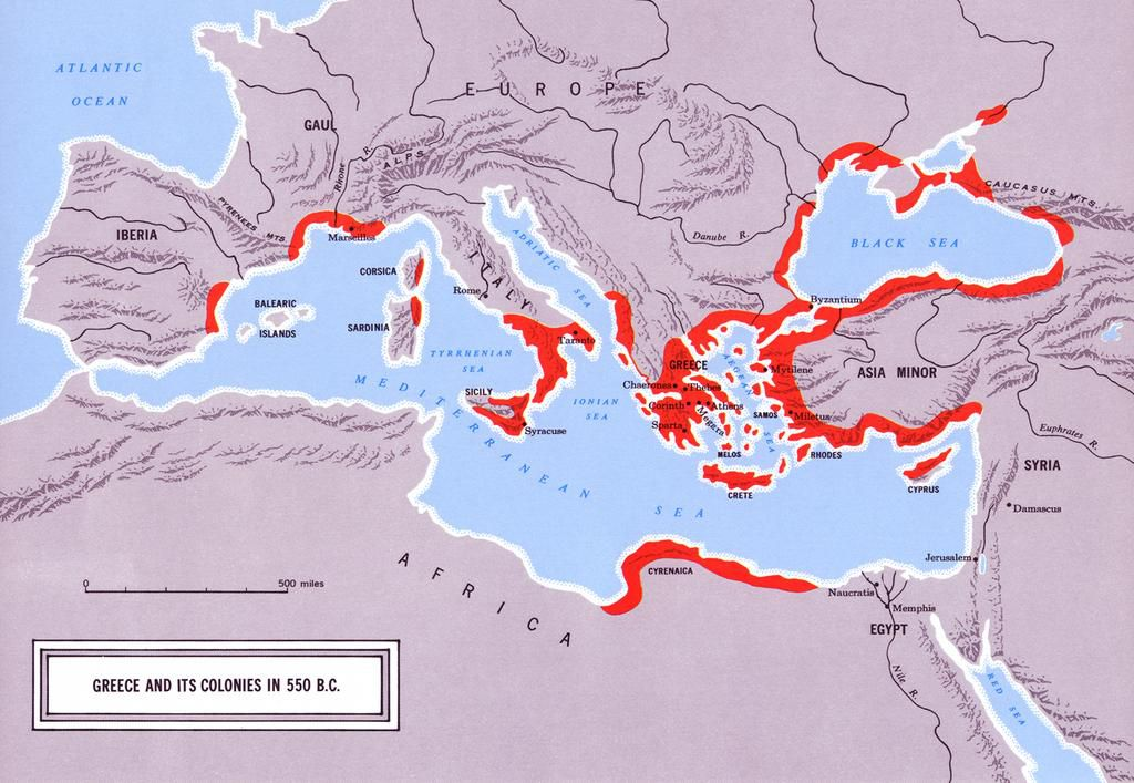 Picture of: 30 Maps That Show The Might Of Ancient Greece