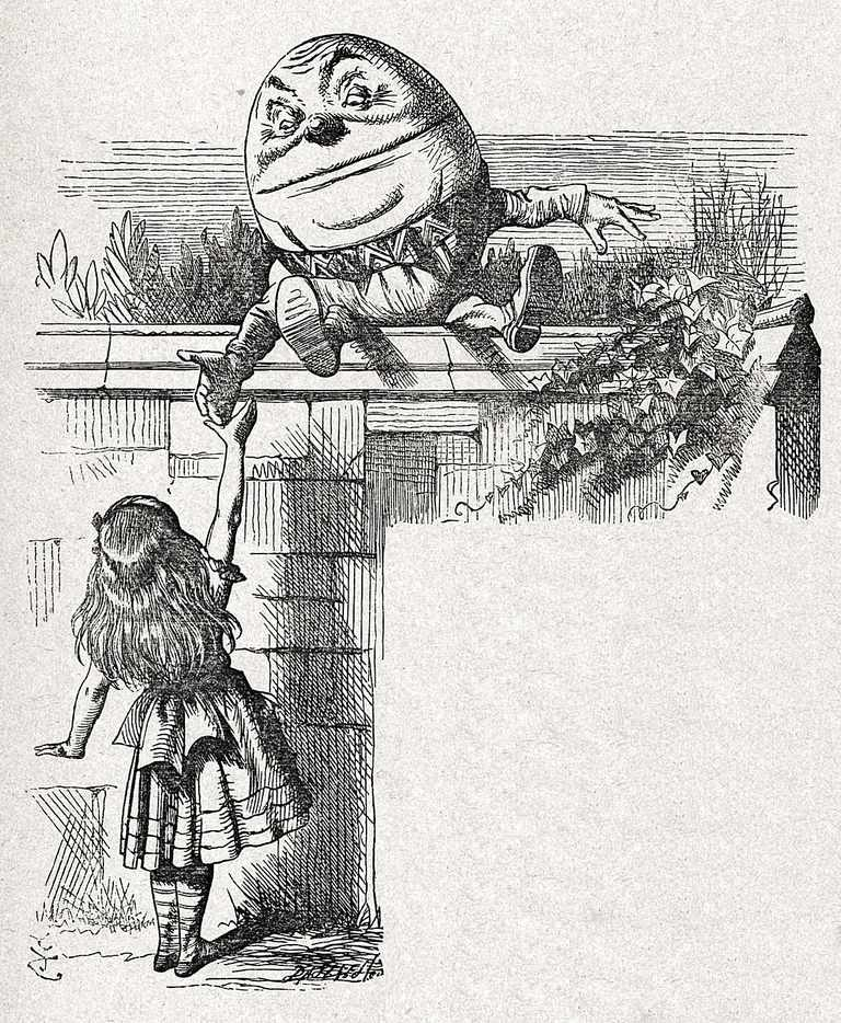 Humpty Dumpty's Philosophy of Language
