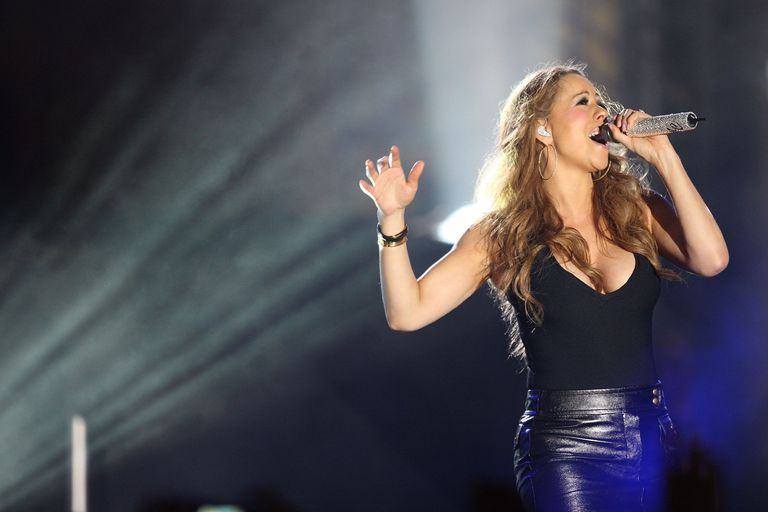 Mariah Carey Performs At Babylon Court