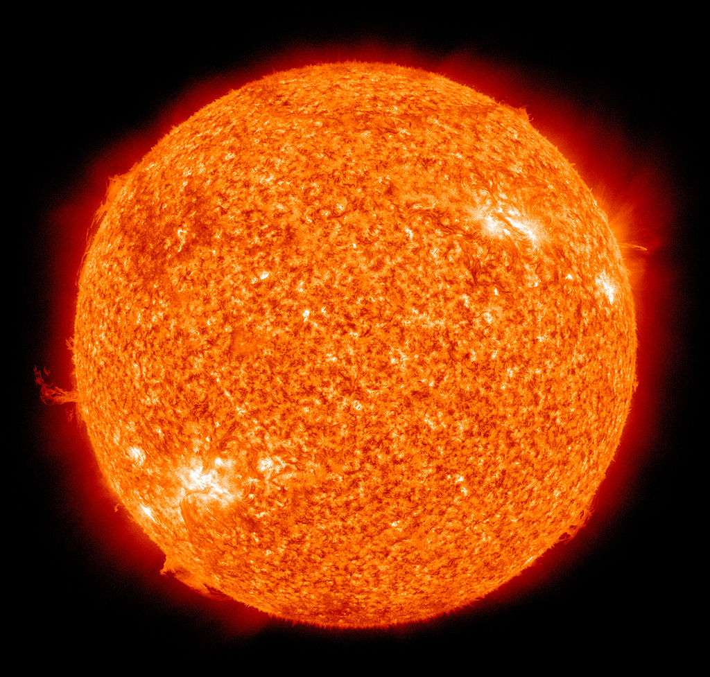 The Sun as seen from a spacecraft