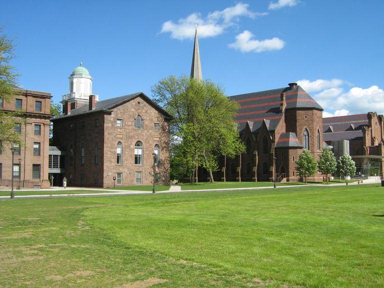 Buildings at Wesleyan College.