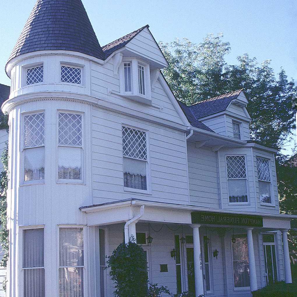 remodelage triste d'une maison Queen Anne