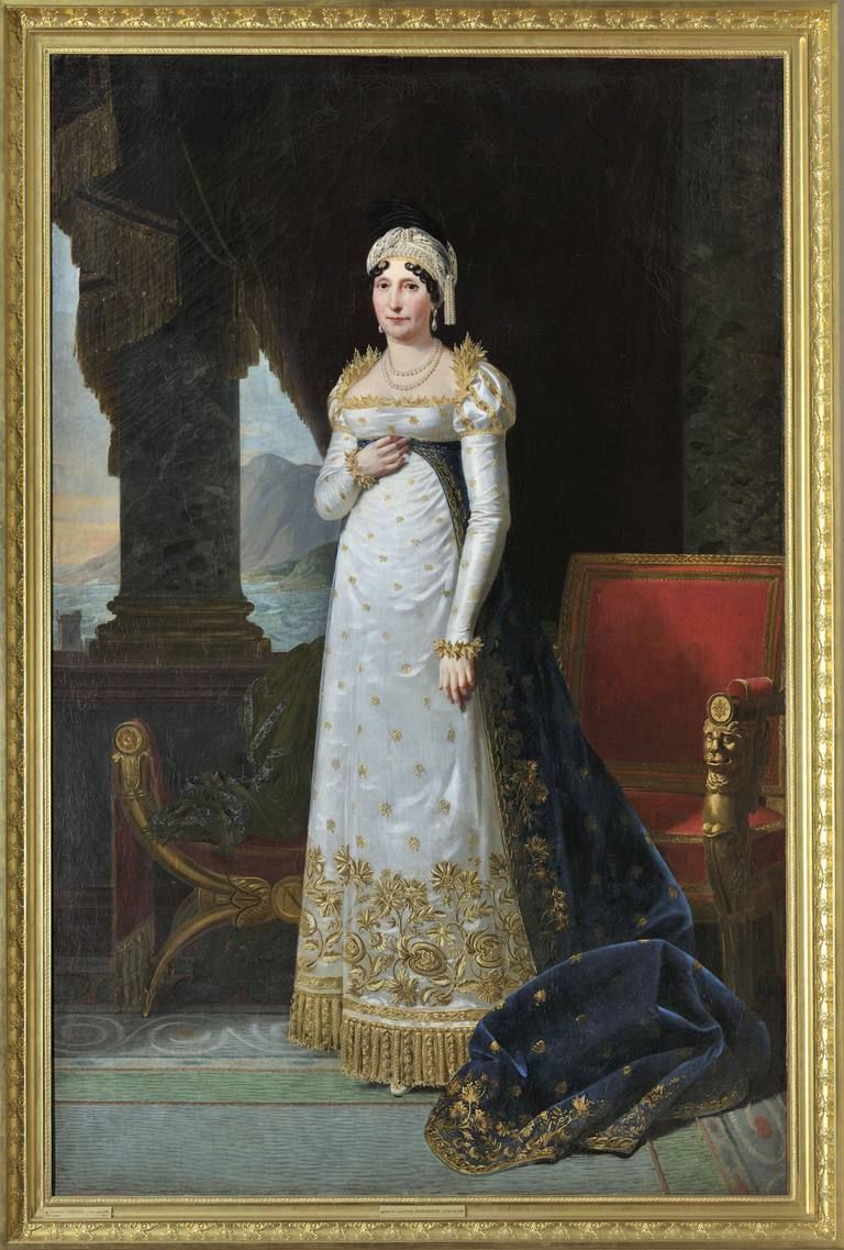 Letizia Bonaparte by Robert Lefevre
