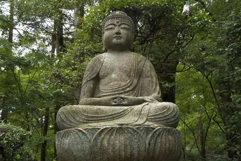 Buddha, Ryoanji Temple, Kyoto, Japan