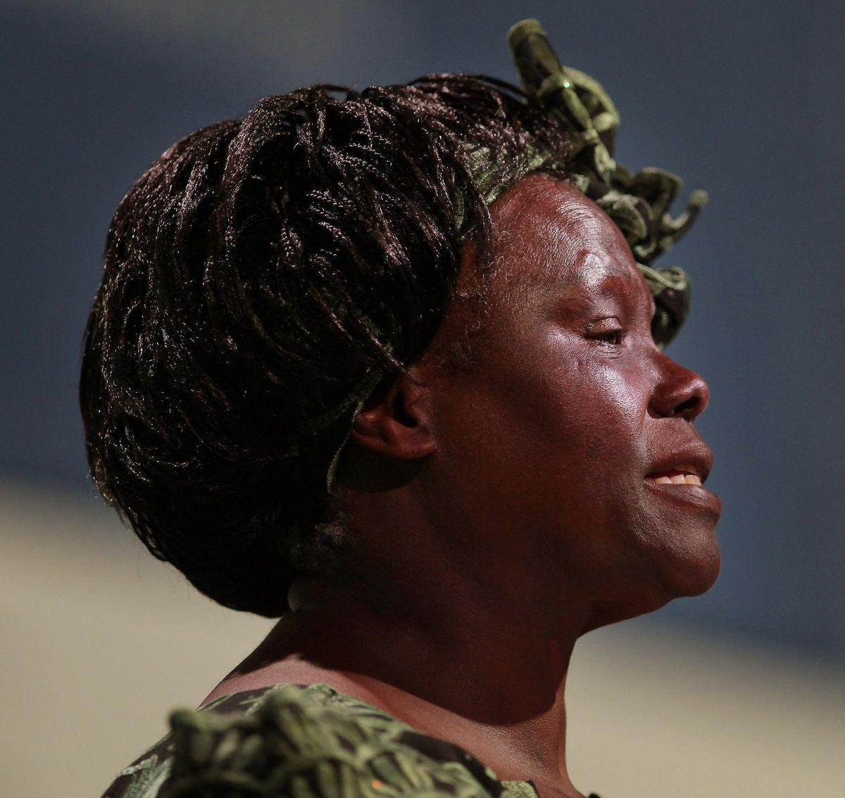Wangari Maathai, December 2009