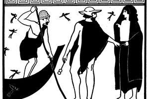 Hermes and Charon