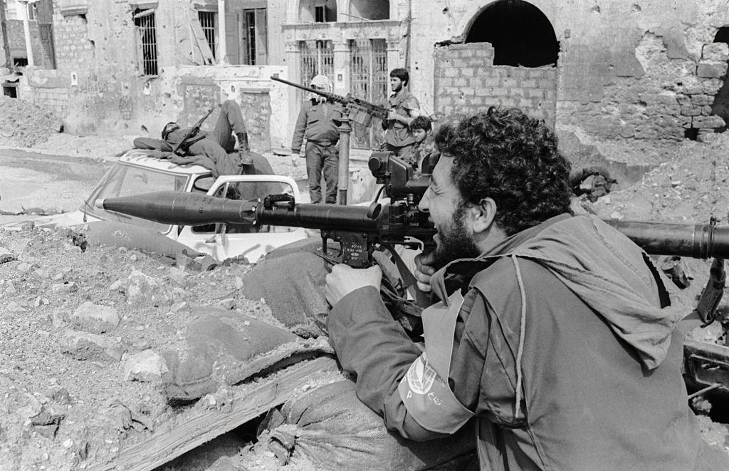 Хронология на ливанската гражданска война От 1975-1990