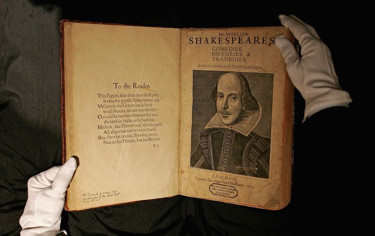 Shakespeare's First Folio Edition To Be Sold