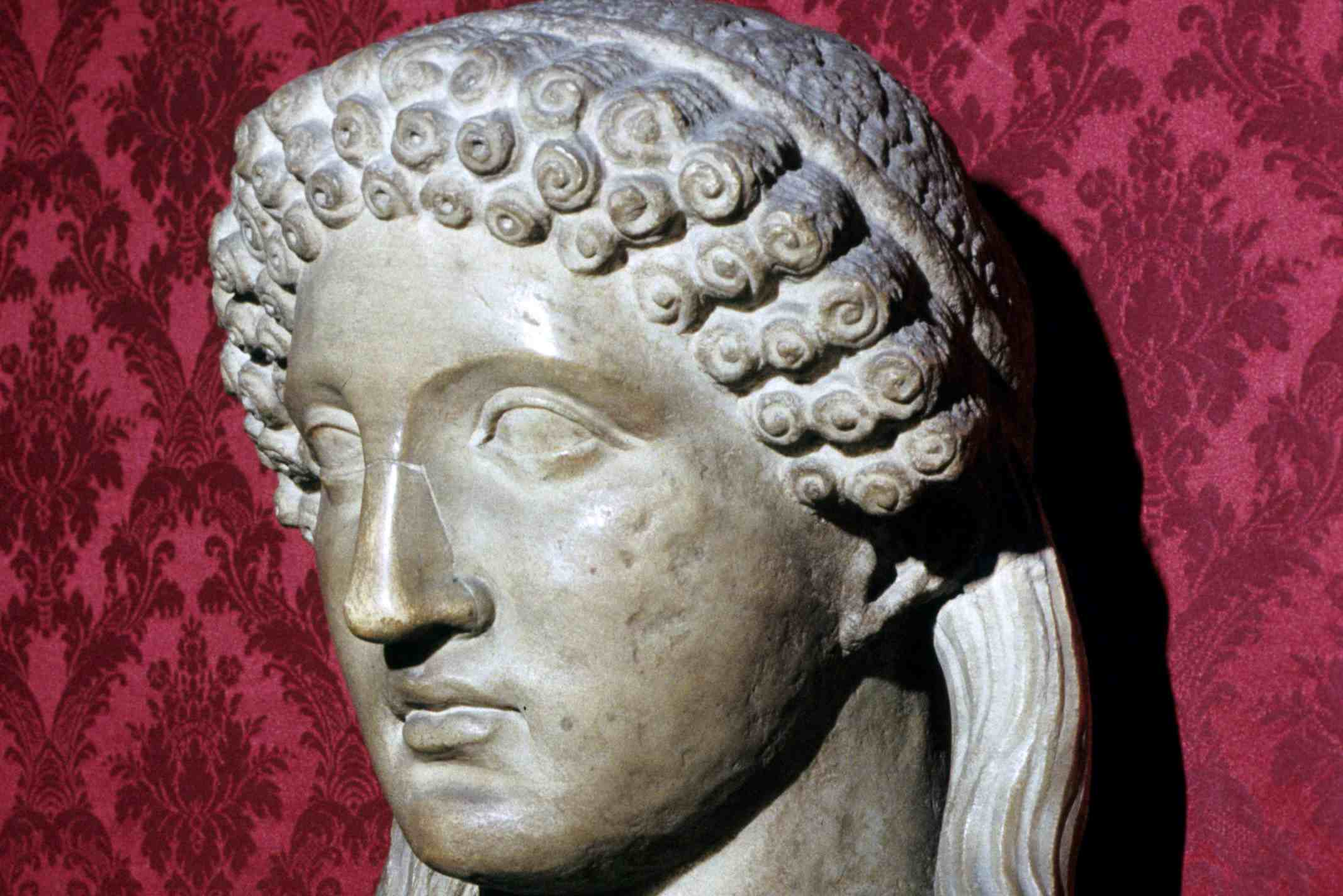 Greek Bust of Sappho, Capitoline Museum, Rome