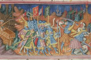 Ivar and Ubba Slaying Christians in Northern England