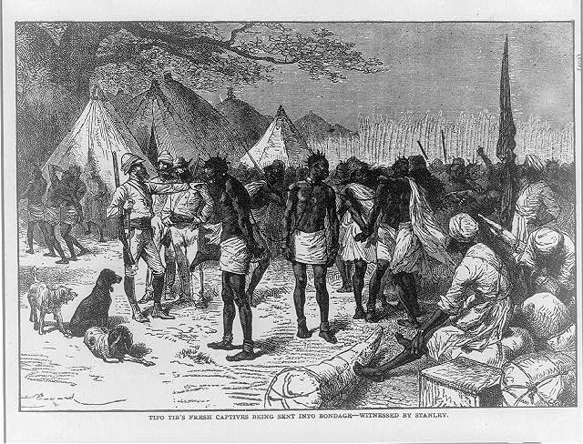 African Captives Being Sent Into Slavery