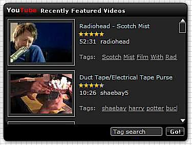 Blog Widgets - Youtube