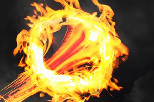Both flammable and inflammable mean a substance readily burns.