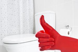Bleach chemical cleaner