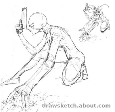 How To Draw A Female Superhero