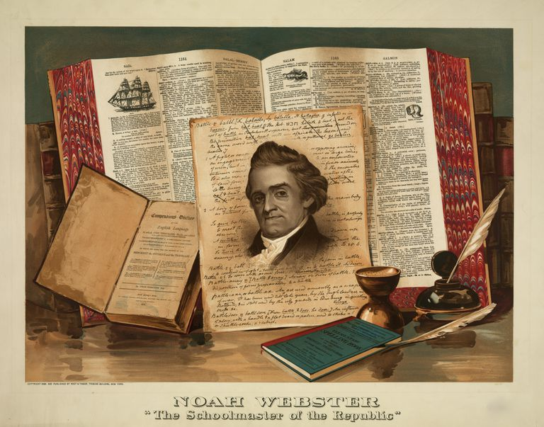 Image result for noah webster
