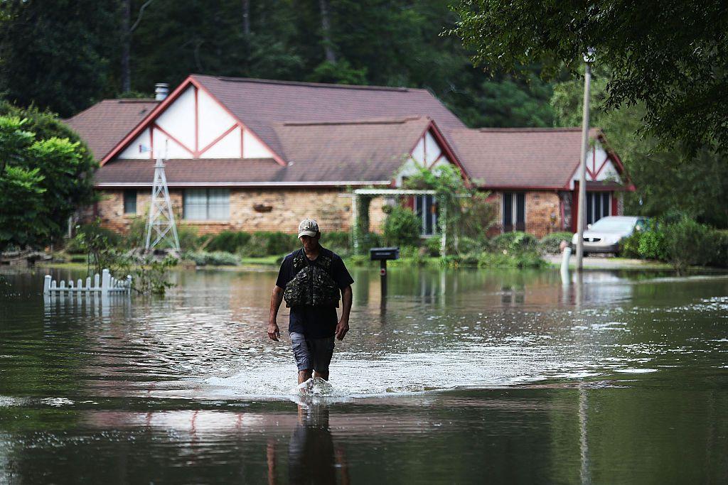 flood in Southern Louisiana