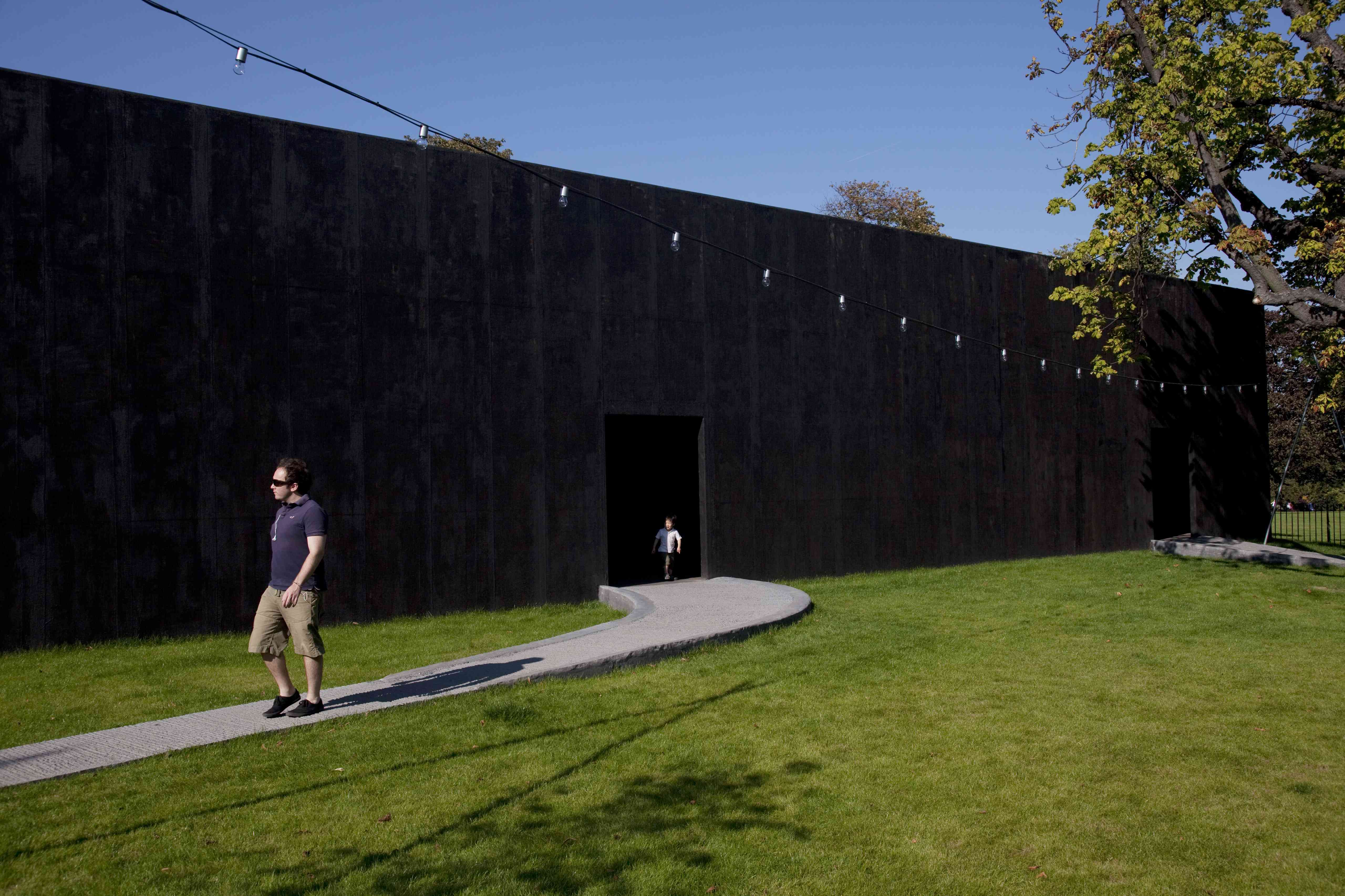 The Serpentine Gallery Pavilion 2011, designed by Peter Zumthor
