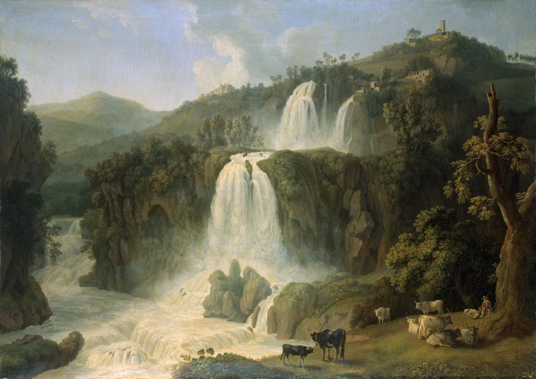 A Painting by Jacob Philipp Hackert