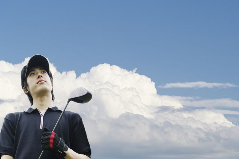 Spending too much time looking up at the sky after hitting driver? You might need help avoiding pop-ups.