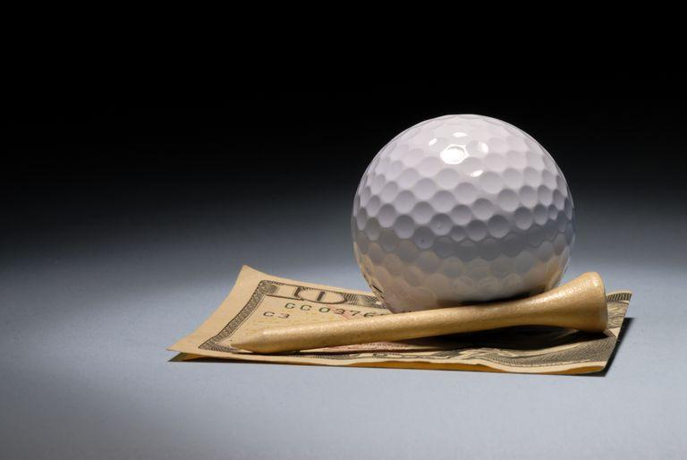 money won in a golf match