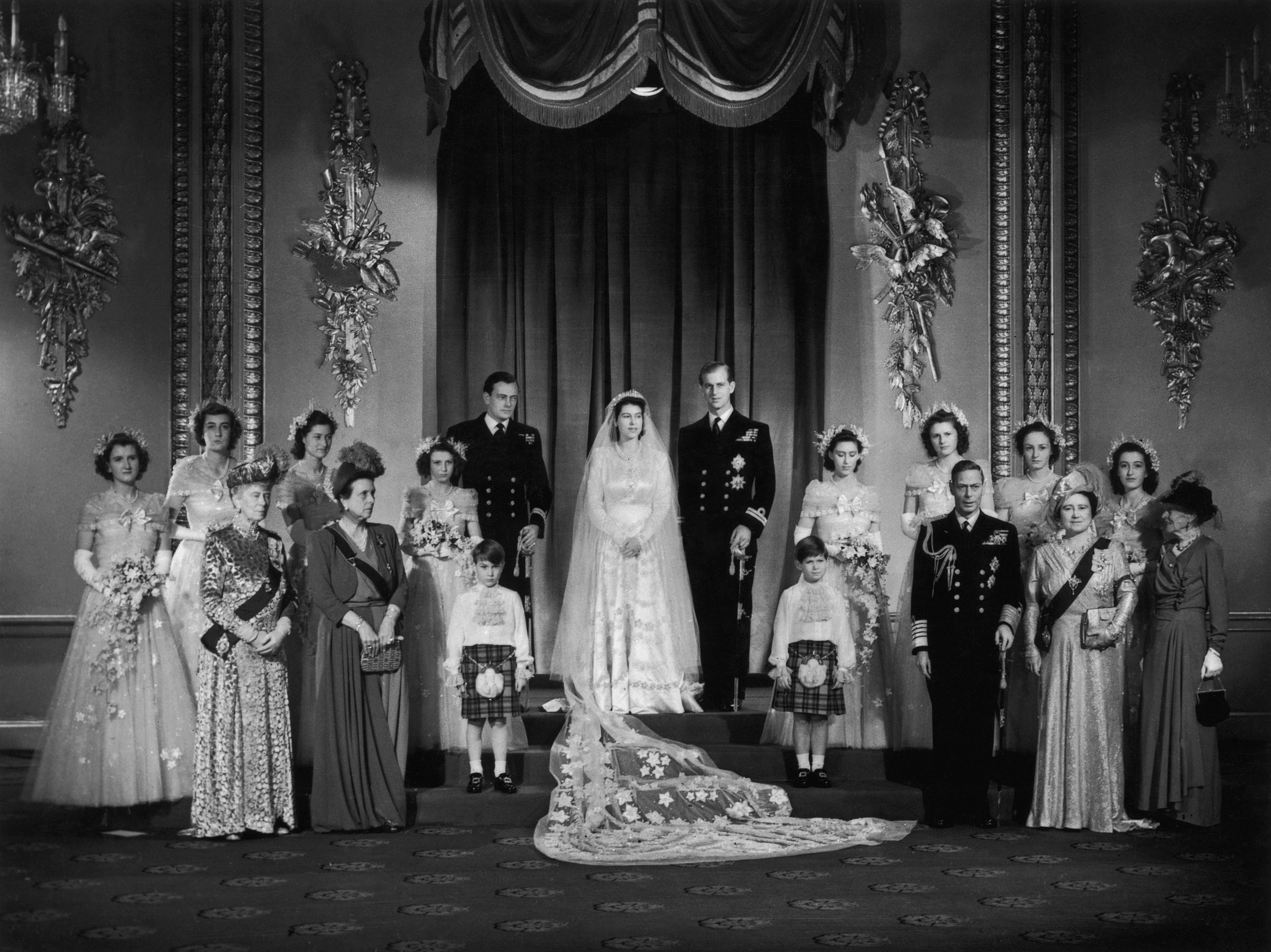 ロイヤルウェディングプリンセスエリザベス1947年