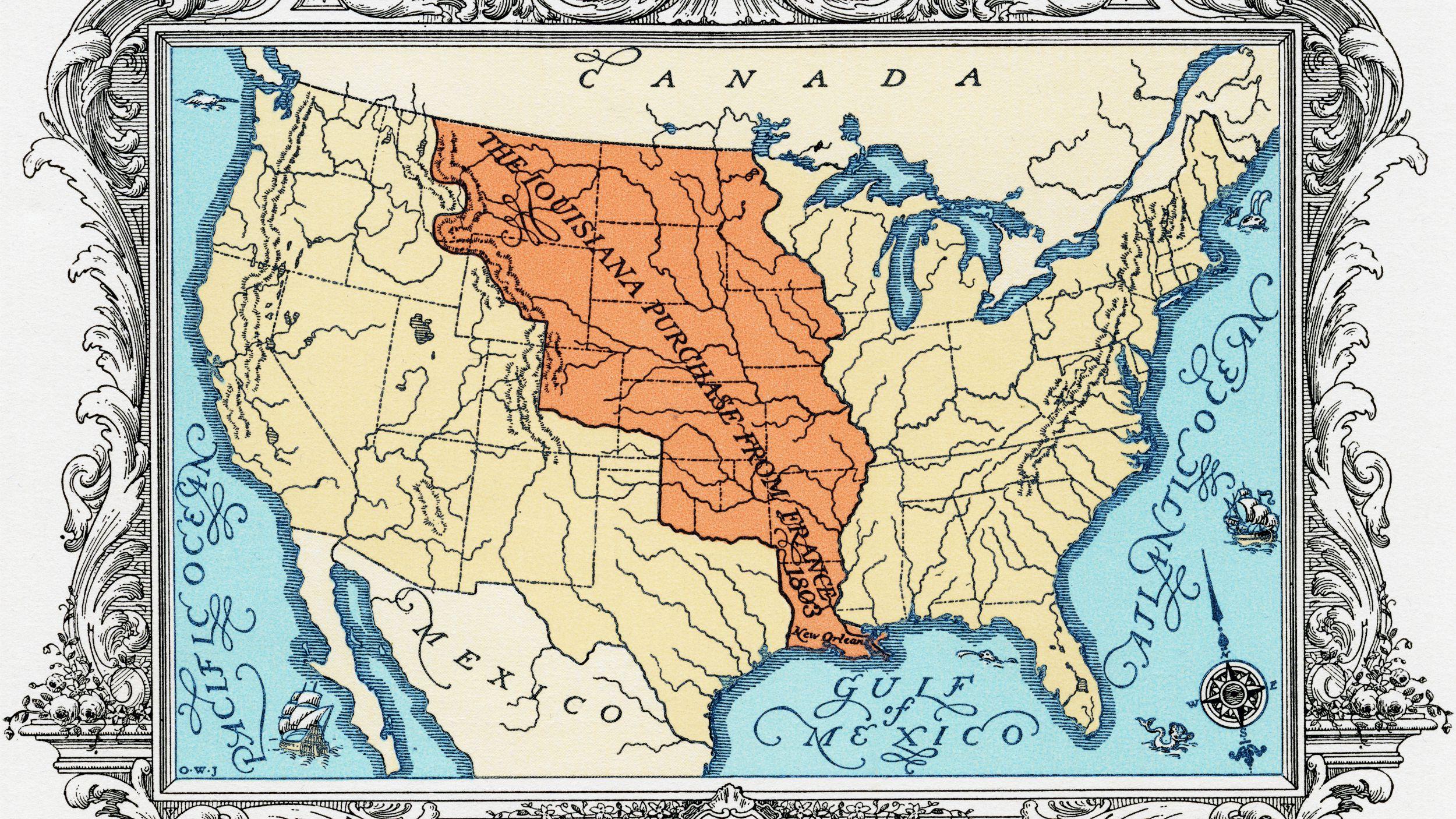 Thomas Jefferson and the Louisiana Purchase on