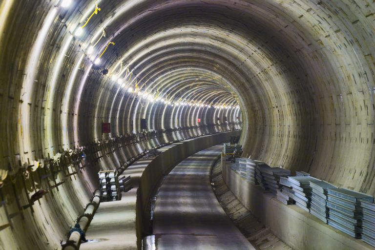 Channel Tunnel Extension under Construction