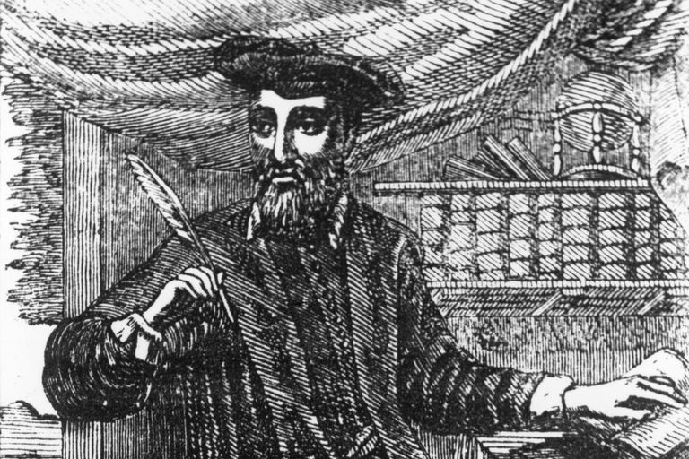 Nostradamus Writing