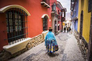 Calle Jaen, a street in La Paz, Bolivia