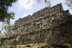 Structure 33, Mayan Archaeological Site, Yaxchilan, Chiapas, Mexico, North America