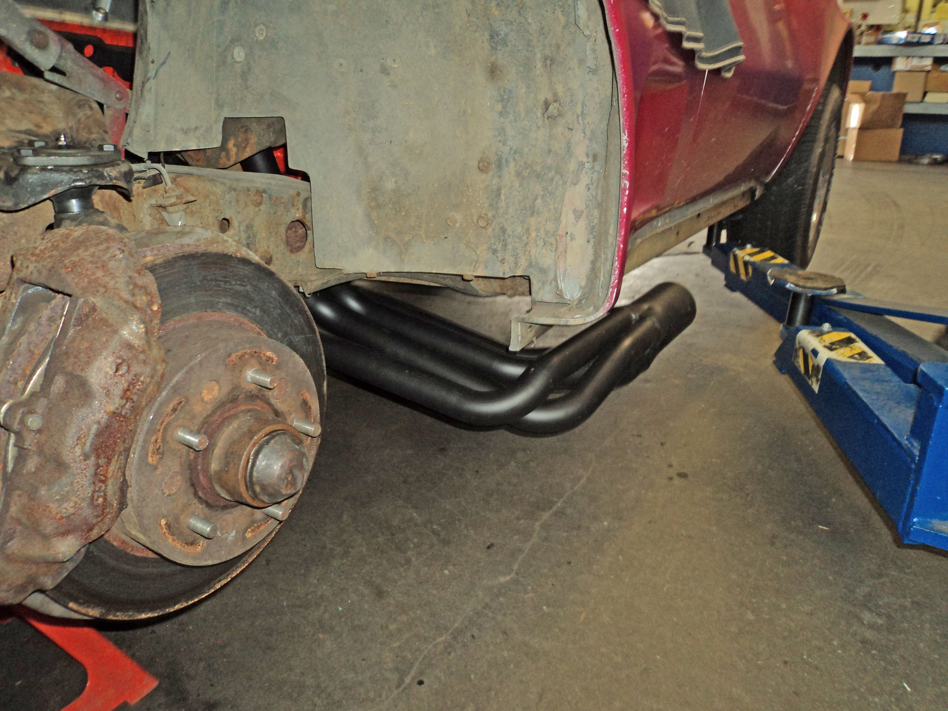 How To Install Corvette Headers And Side Exhaust