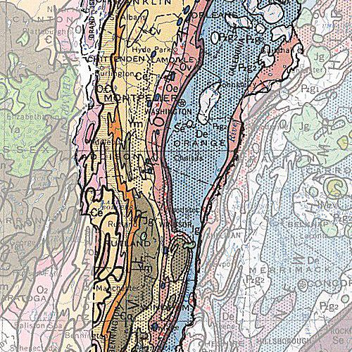 Geological Map Of United States.Geologic Maps Of The 50 United States