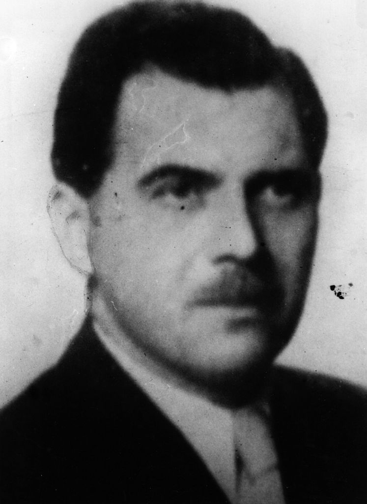 Joseph Mengele, known as 'The Doctor of Auschwitz' and 'The Angel of Death' for his pseudo-scientific experiments on inmates at Nazi death camps.