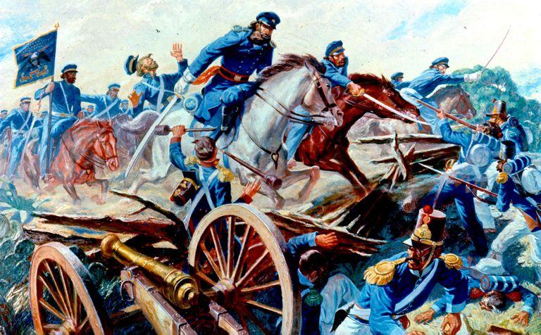 The Battle of Resaca de la Palma