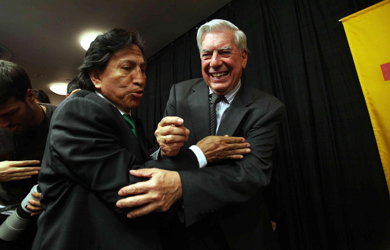 Vargas Llosa wins the Nobel Prize, 2010