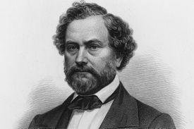 Portrait of American inventor Samuel Colt (1814 – 1862)