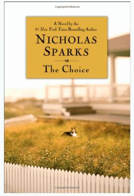 Nicholas Sparks the choice book cover